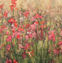 Alison Leight Menke - flowers painting