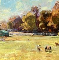 Alison Leight Menke - roaming through the pasture